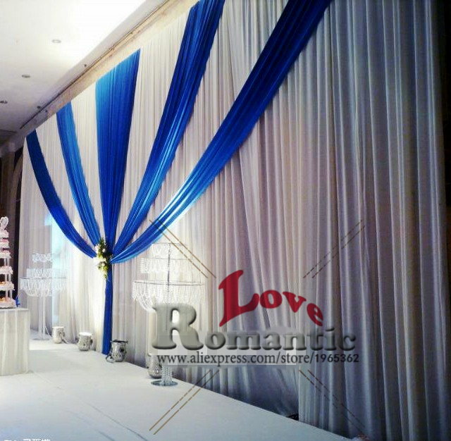 compare prices on 3x6m wedding backdrop with swag online shopping