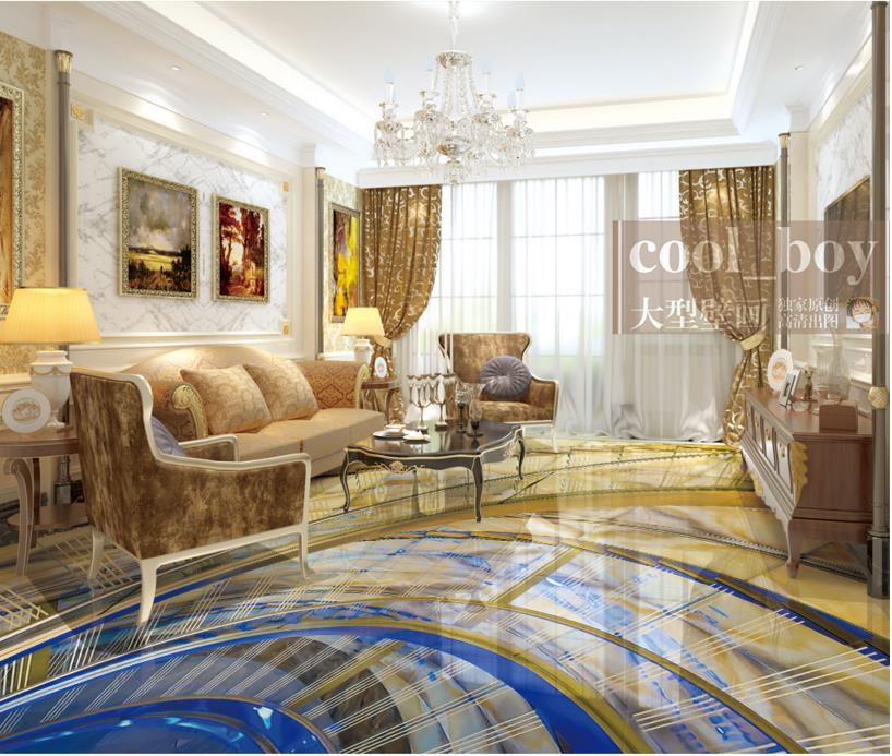ФОТО custom 3d flooring painting wallpaper spiral wallpaper for walls 3d floor tiles wallpaper self adhesive wallpaper foto