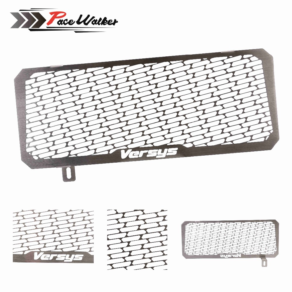 For Kawasaki VERSYS 650 15-16 Motorcycle Engine Radiator Grille Guard Cover Protector Fuel Tank Cover Protector motorcycle radiator grille grill guard cover protector golden for kawasaki zx6r 2009 2010 2011 2012 2013 2014 2015