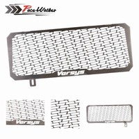 For Kawasaki VERSYS 650 15 16 Motorcycle Engine Radiator Grille Guard Cover Protector Fuel Tank Cover