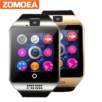 Mens Smart Watches Passometer With Touch Screen Camera Support TF Card Bluetooth Smartwatch For Android Xiaomi