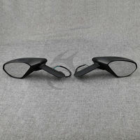 L R Side Black Turn Signals Mirrors Kit For Ducati 959 1299 Panigale S 2015 2016