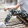 2017 мода прилив случайные штаны 100% хлопок slim fit мужчины брюки плюс размер 28-38 ape headcamouflage брюки мужчины Армия Камуфляж брюки