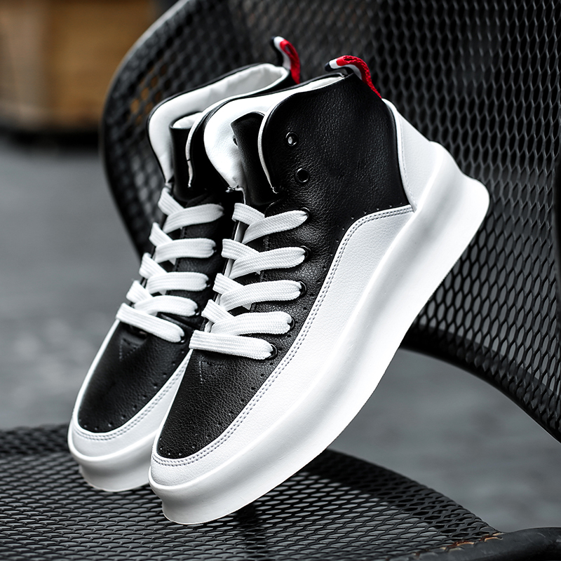Men's Casual Shoes Generous New Arrival Men Shoes Height Increasing Sneakers Zapatos De Hombre Genuine Leather Skateboard Shoes Men Tenis Masculino Trainers