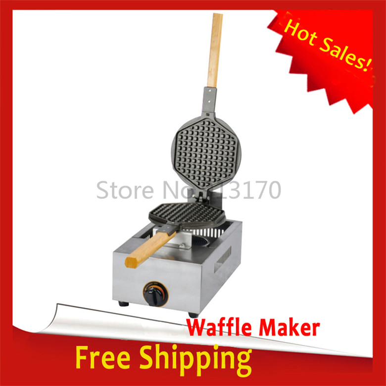 Hot Sales_Gas Waffle Waffle Snack Baker Kitchen Appliance Waffle Making Device Stainless Steel Waffle Stove FREE SHIPPING
