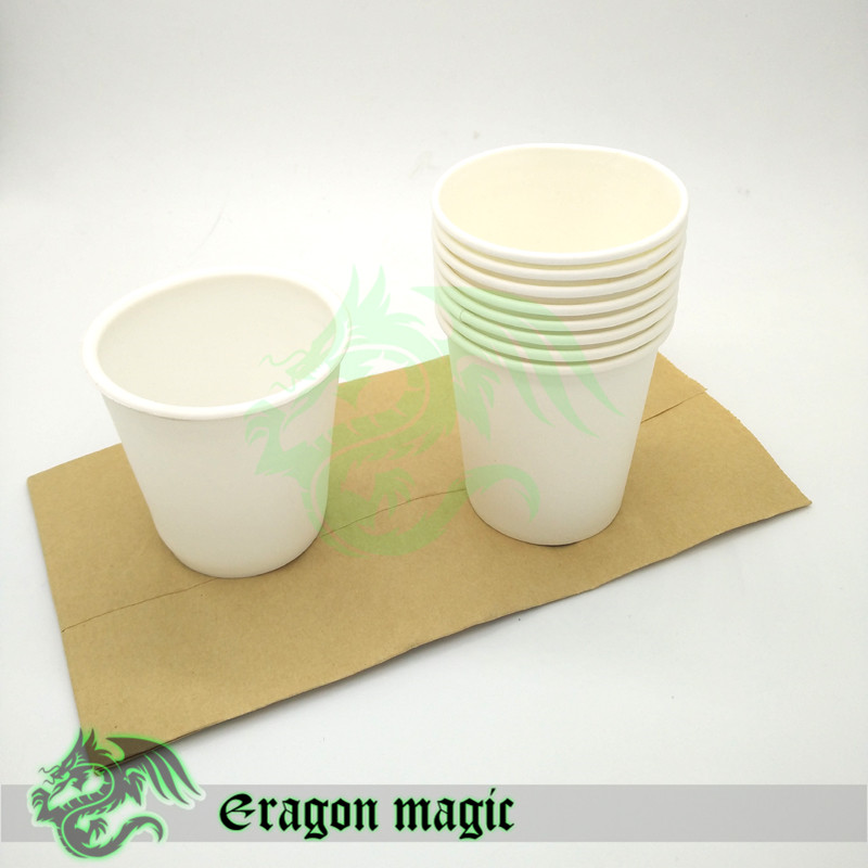 Restaurering Paper Cup Gratis frakt Magic Tricks Leksaker Rekvisita