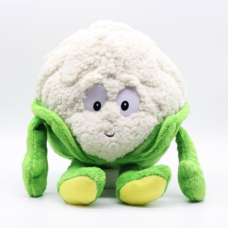Cartoon Plush dolls Toys stuffed dolls 25-35cm Fruits Vegetables cauliflower Mushroom blueberry Starwberry Soft Plush Doll Toy