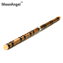Black line Chinese Flute For Beginner Good Choose with Dimo knot CDEFG KEY FLUTE