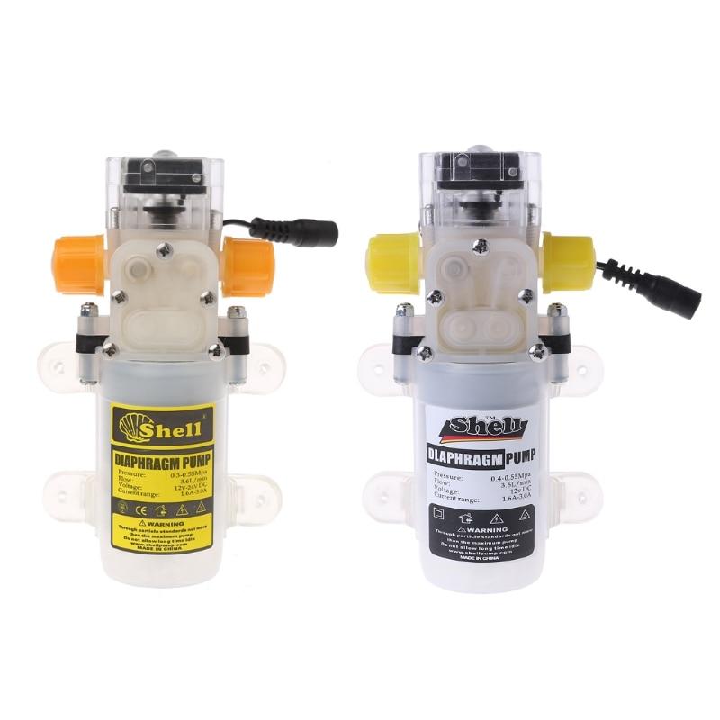 12V 70W Self-priming Food Grade Diaphragm Water Pump Auto-priming Pump Wine #Aug.26