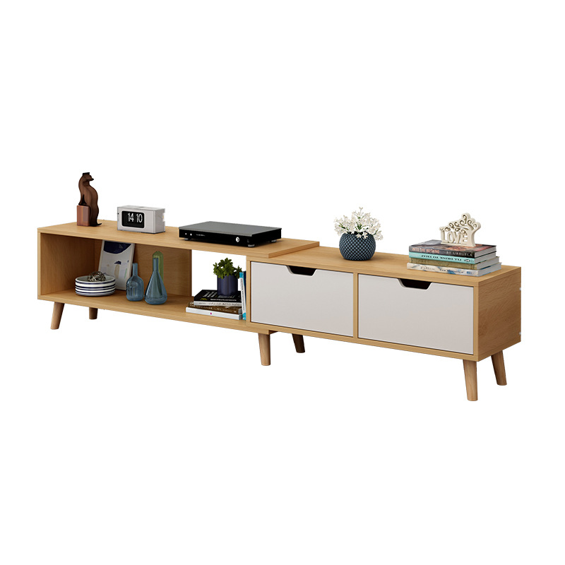 Aliexpress Lk1695 Hot Tv Cabinet Combination Coffee Table Nordic Living Room Furniture Mini Telescopic Width Adjule From Reliable