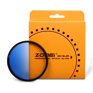 Image 4 - Zomei Camera Filtro Ultra Slim Frame GND Gradula Color Filters Blue Grey Red Orange 49 55 58 62 67 72 77 82mm For DSLR Camera