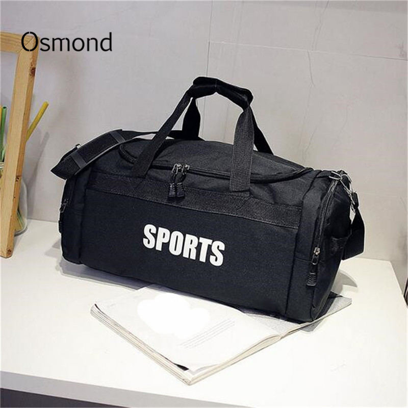 Osmond Men's Travel Bag Large Capacity Luggage Multifunctional Handbag Women Weekend Travelling Totes Bag Duffel Letter For Male