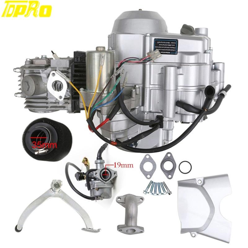 High Performance 125cc Semi Auto Electric Engine Motor
