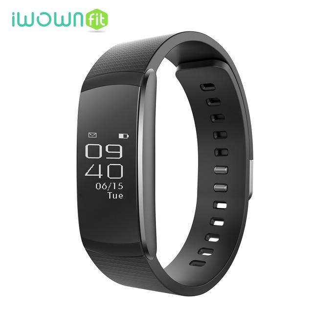 iWownfit i6 Pro Bluetooth Smart Band Heart Rate Monitor Multi Sport Management Wrist Smartband