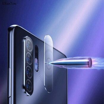 Перейти на Алиэкспресс и купить EXUNTON 2 шт объектив камеры закаленное стекло для VIVO Z3X Z5X задняя камера объектив Защита экрана для VIVO Z3 Z5 X защитная пленка