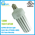 250 Mercury Vapor Lamp CFL replacements E40 120W LED corn cob lamp 15314Lm 135LM/W light bulbs E39 mogul base parking lot light