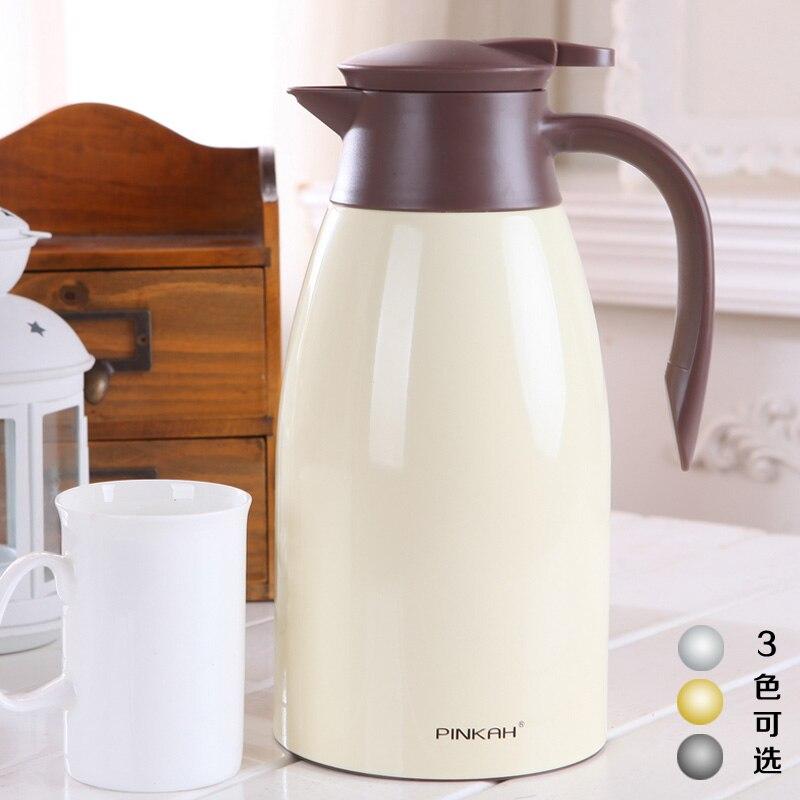 PINKAH 1.6L/1.9 LThermo Cruche Chaleur Bouilloire Isolation Sous Vide Pot Café Thé Thermos Tasses