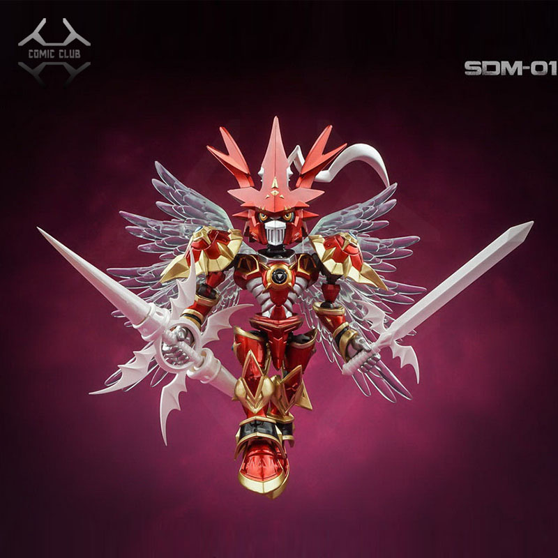 Comic Club Instock Tongmong Ex Sd Nx Digital Monster Digimon Dukemon Crimson Mode Action Toy Figure Buy At The Price Of 68 00 In Aliexpress Com Imall Com It exceeded the perfection shining from the crystal in saviorhuckmon's chest, assumed its ultimate form, and acquired the title of a royal knight. comic club instock tongmong ex sd nx