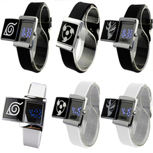 Naruto Sharingan bleach Attack Titan Wrist Watch LED Lighted Electronic Watch