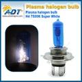 4 шт. бесплатная доставка H4 9003 HB2 12 В 55 Вт галоген Ксенон лампы фар противотуманные фары super white 7500 К/6000 К для nissan для Citroen