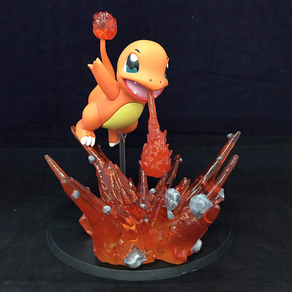 Love Thank You Fire Dragon Charmander monster PVC Figure anime TOY Collection Hobby NEW GIFT poke 16cm game to love ru darkness figure lala satalin deviluke maid ver 1 7 complete figure toy collection anime
