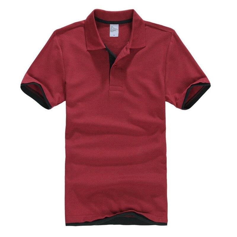 Mens Camisas Pólo Homens Desiger Homens Polos de Algodão Camisa de Manga  Curta Roupas camisas Polos 63489ebd13a99