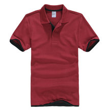 Mens Polo Shirts Men Desiger Polos Men Cotton Short Sleeve Shirt Clothes jerseys Golf Tennis Polos Drop shipping ABZ105(China)