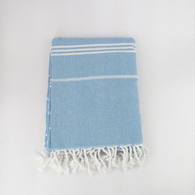 HAKOONA Turkish Hammam Peshtemal Pestemal %100 Cotton Bath Towel Gift Spa Gym Yoga Beach 100X180cm