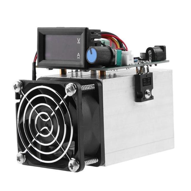 Электронные нагрузки 0-10A 100 Вт DC 12 В разряда батареи Емкость детектор Модуль тестирования DC Цифровой тестер аккумулятора