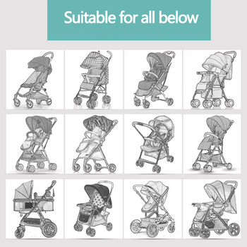 Baby Stroller Raincover baby trolley rain cover Cart Dust Rain Cover Raincoat Pushchairs Pram Buggy Raincover 2
