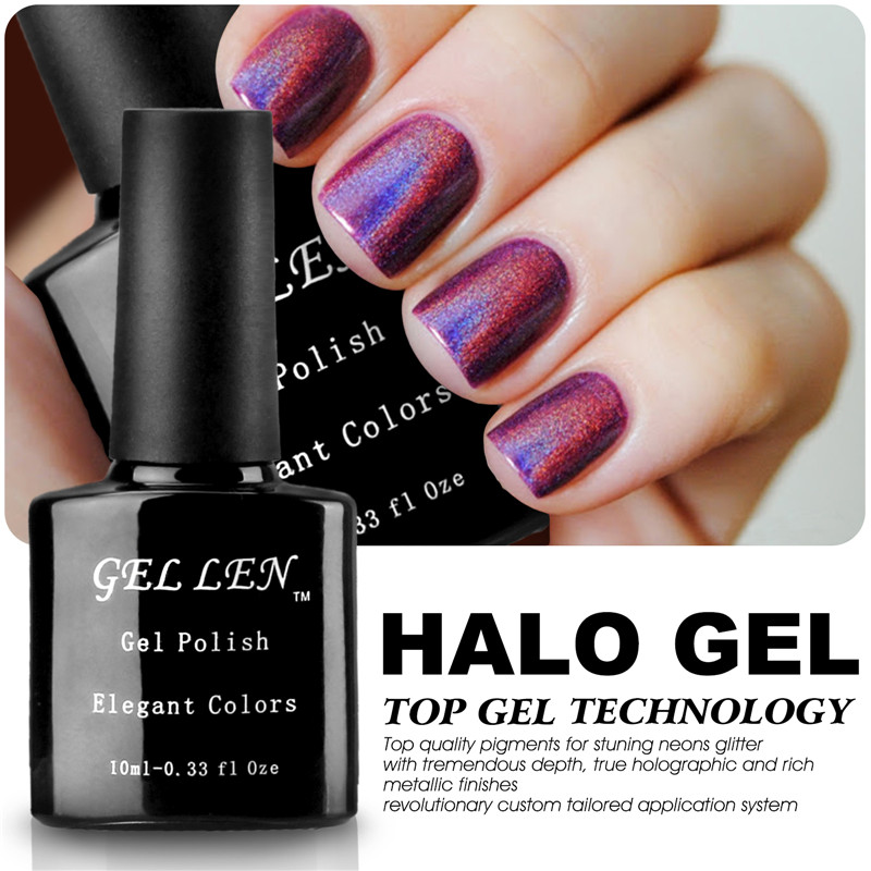 Gel Len Nail Polish Brand UV Soak Off Nail Gel Varnish Long Lasting ...