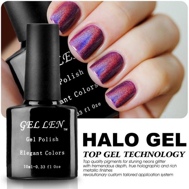 Gel Len Nail Polish Brand UV Soak Off Nail Gel Varnish Long Lasting ...