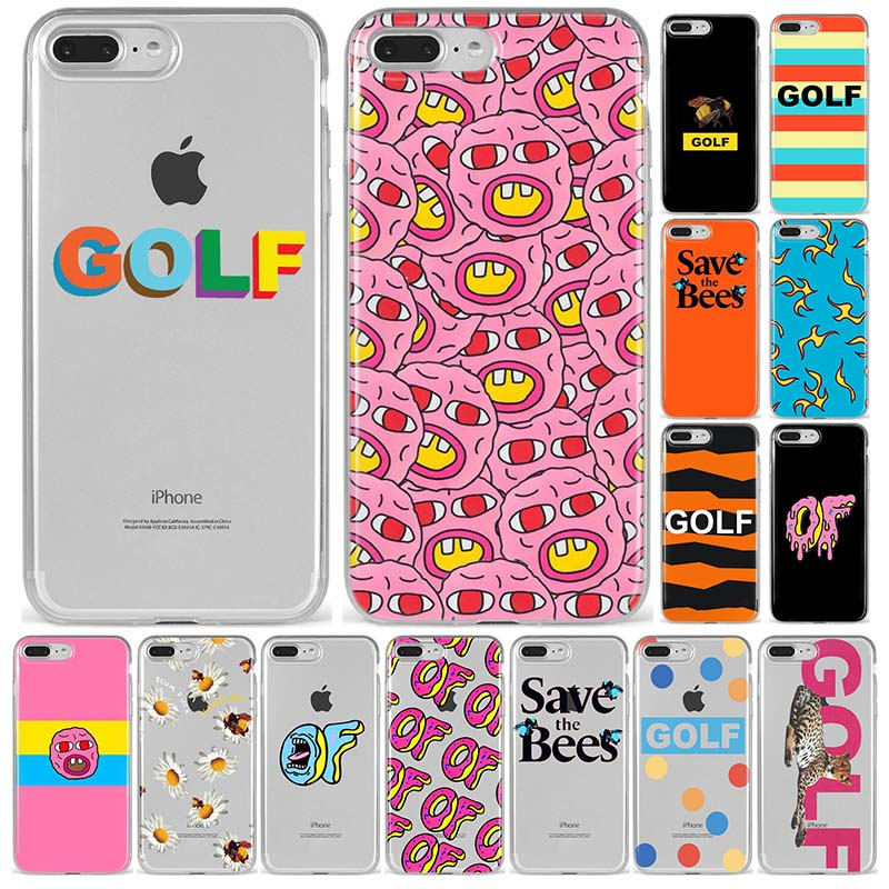 f71d7fd2c94b Golf Wang Tyler Creator Odd Future Santa Cruz Soft Silicone TPU phone Case  For iPhone 5S SE 6 6s7 8 Plus X XS XR XS MAX Anime