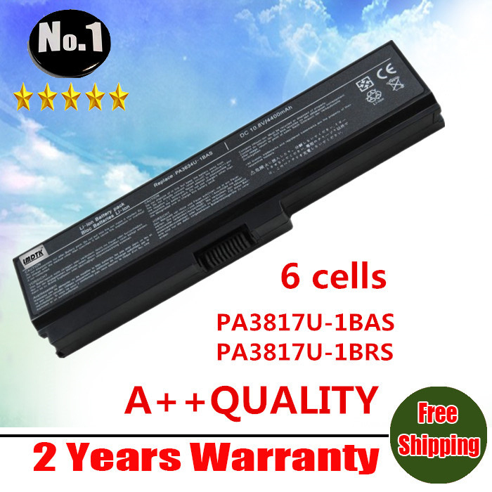 Wholesale New 6 cells Laptop Battery For Toshiba Satellite L700 L730 L750 C600D A600 A655 series