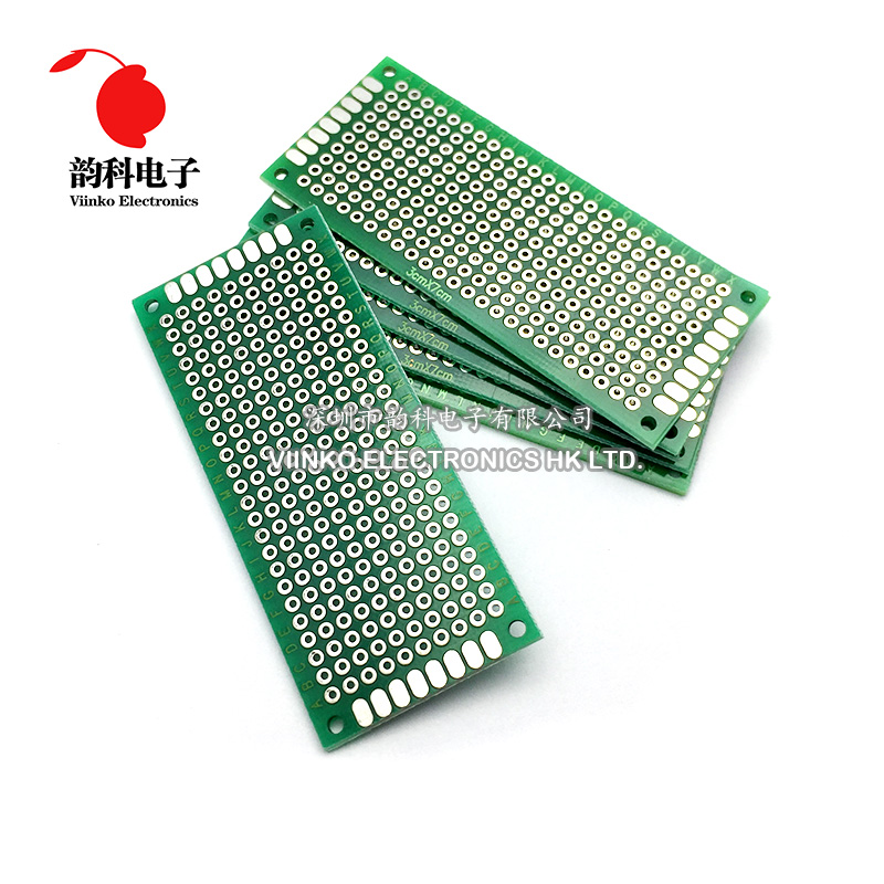 5pcs 7x12cm Singlesided Prototype Pcb Universal Printed Circuit Board