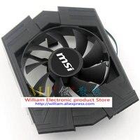 Original MSI Graphics Card Fan For ASUS GTX750TI FD8015U12S PLA08015S12HH AUC0912VBA01 R128015SU