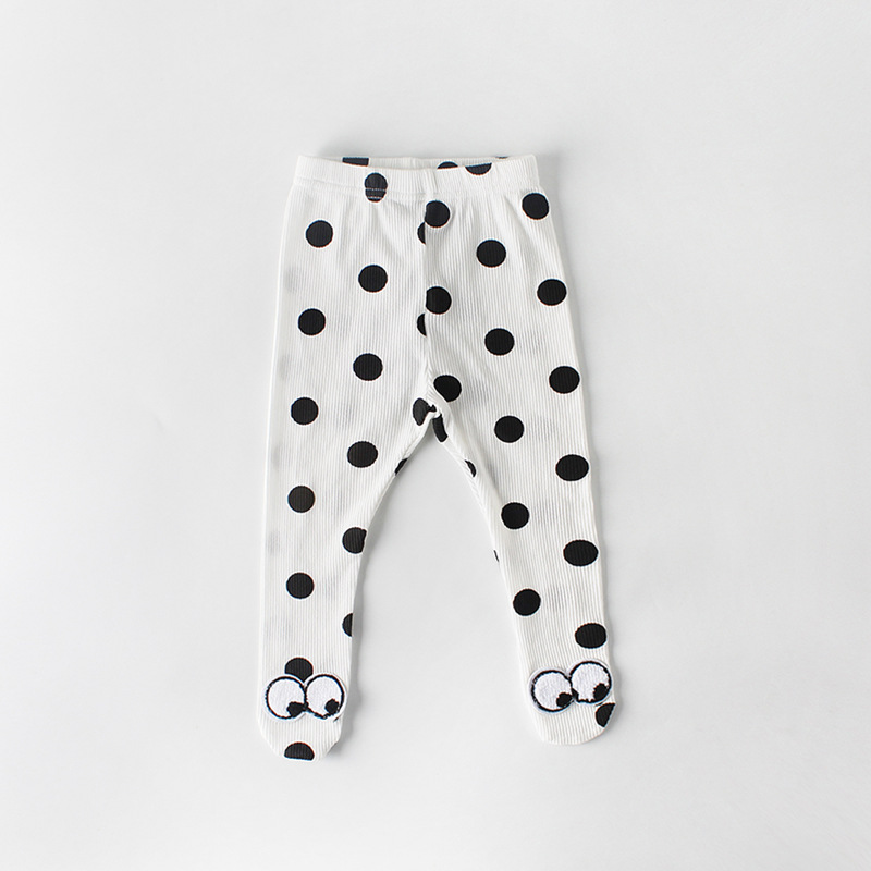 0 2yrs Baby Girl Tights Newborn Pantyhose Big PP for Boys Knit Baby Tights Solid Print Cotton Children Stockings Kid Girls Tight in Tights from Mother Kids