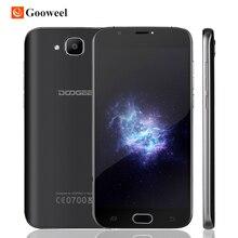 """Оригинал DOOGEE X9 мини Сотовый телефон MT6580A Quad Core Android 6.0 смартфон 5.0 """"Экран HD RAM 1 ГБ ROM 8 ГБ Dual SIM 3 Г WCDMA"""