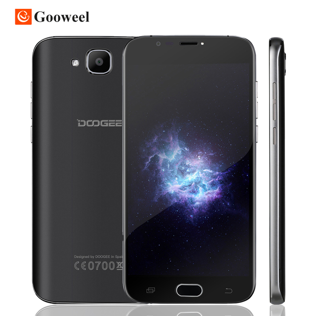 Original DOOGEE X9 mini Cell phone MT6580A Quad Core Android 6.0 Smartphone 5.0'' HD Screen RAM 1GB ROM 8GB Dual SIM 3G WCDMA