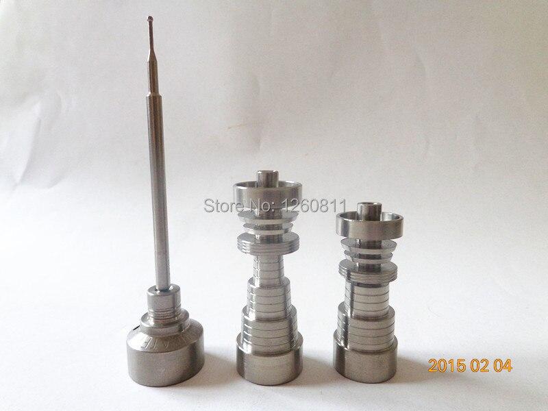 Domeless titanium nail with titanium carb cap dabber wholesale