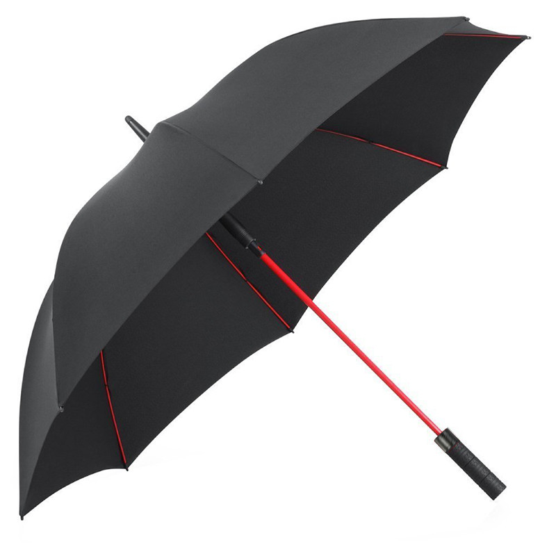 Large Szie 47inch Golf umbrella men Semi automatic umbrella gift Long handle umbrella