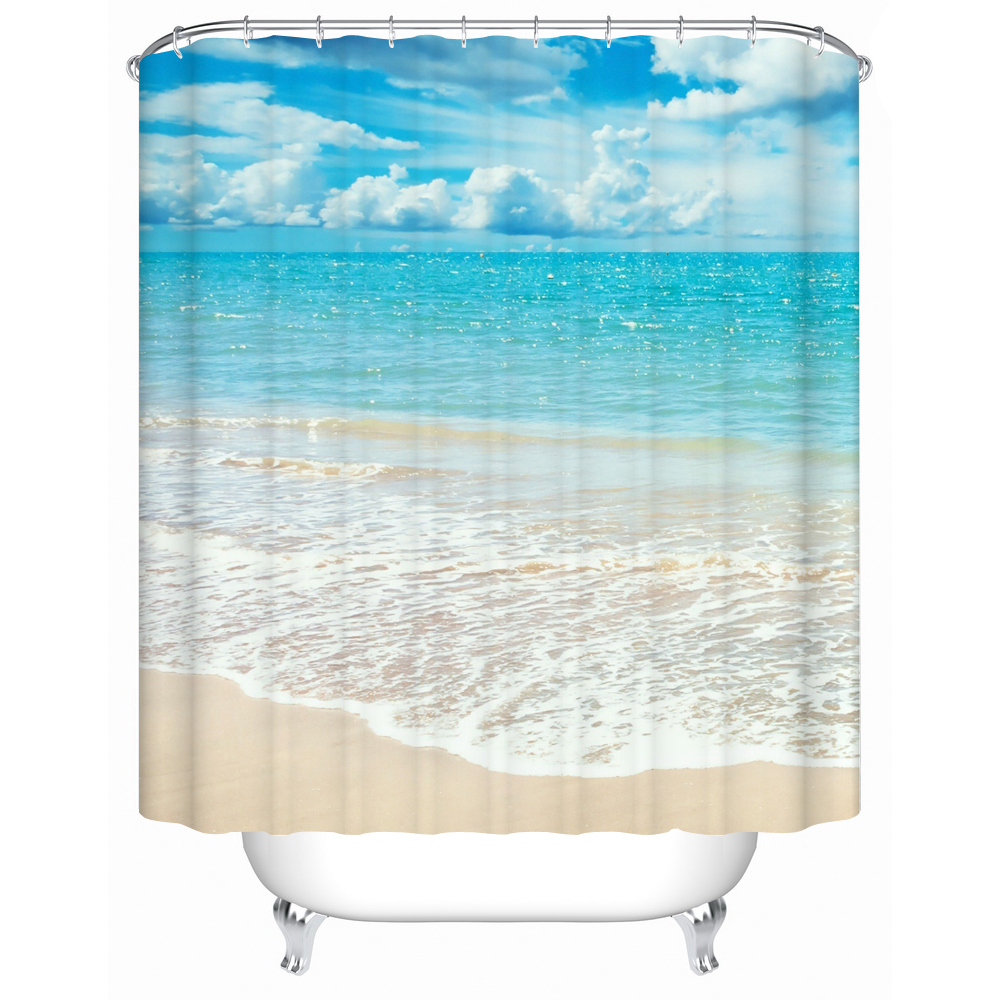 Bathroom products shower curtains bathroom curtain for Shower curtain savers
