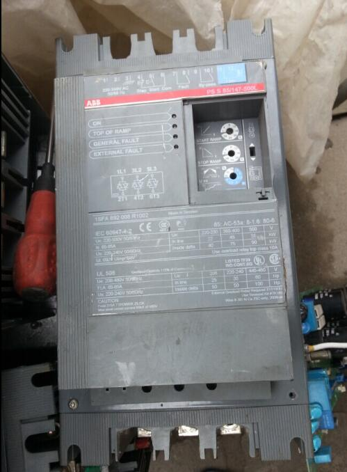 Two soft start 45KW/55KW PSS105/181-500L and PSS85/147-500L gametrix kw 901