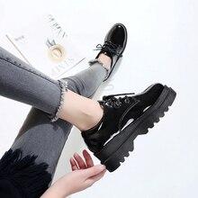 ยุโรปฤดูใบไม้ผลิรองเท้าผู้หญิง retro อังกฤษลม 2019 ใหม่เกาหลีรุ่นหนารองเท้ารองเท้าผู้หญิงแฟชั่น