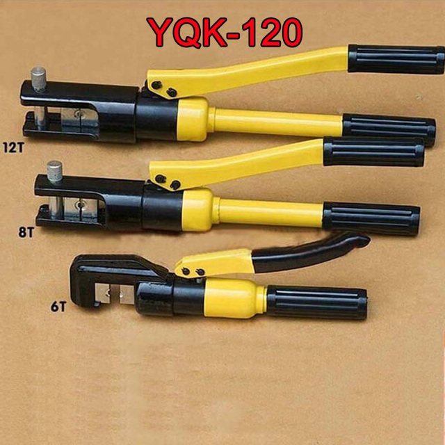 1Piece Hydraulic Crimping Tool Hydraulic Crimping Plier Hydraulic Compression Tool YQK-120 Range 10-120MM2 with good quality K38