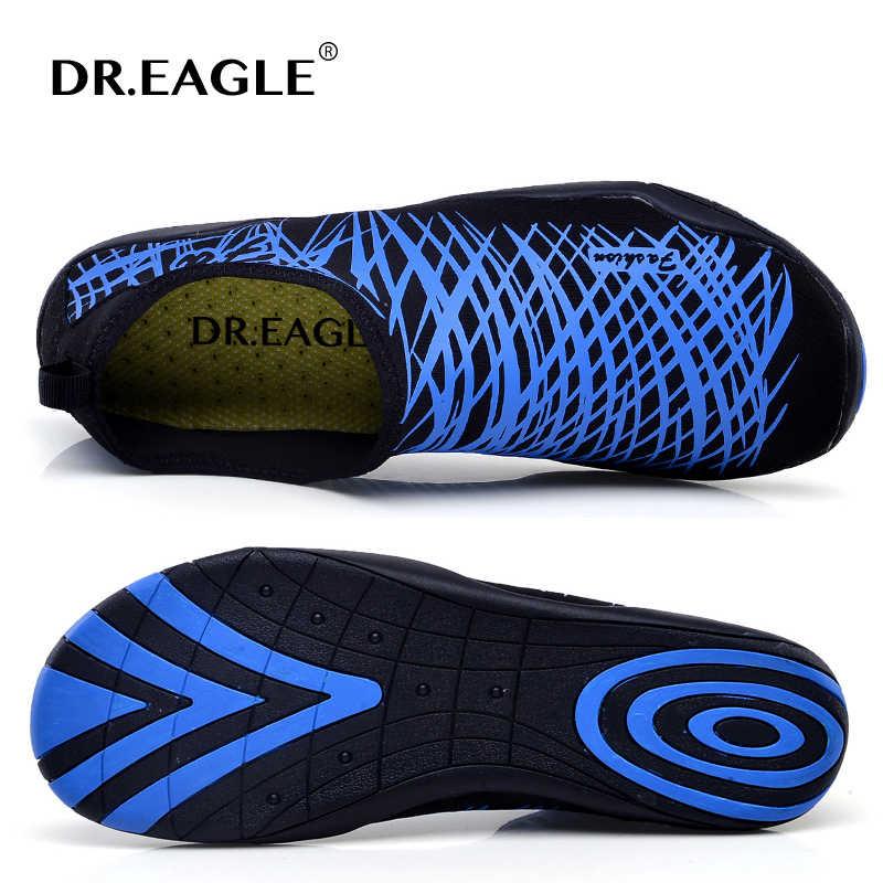 Zapatos de piel de Dr. eagle para playa de agua mujer hombres zapatillas para el agua zapatilla de natación yoga puesta de sol playa gimnasio fitness talla 36-44
