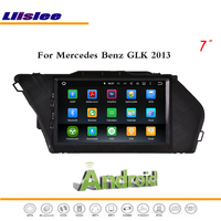 Liislee Android Multimedia For Mercedes Benz GLK 2013 Radio Audio Stereo CD DVD Player TV FM Wifi GPS Map Navi Navigation System