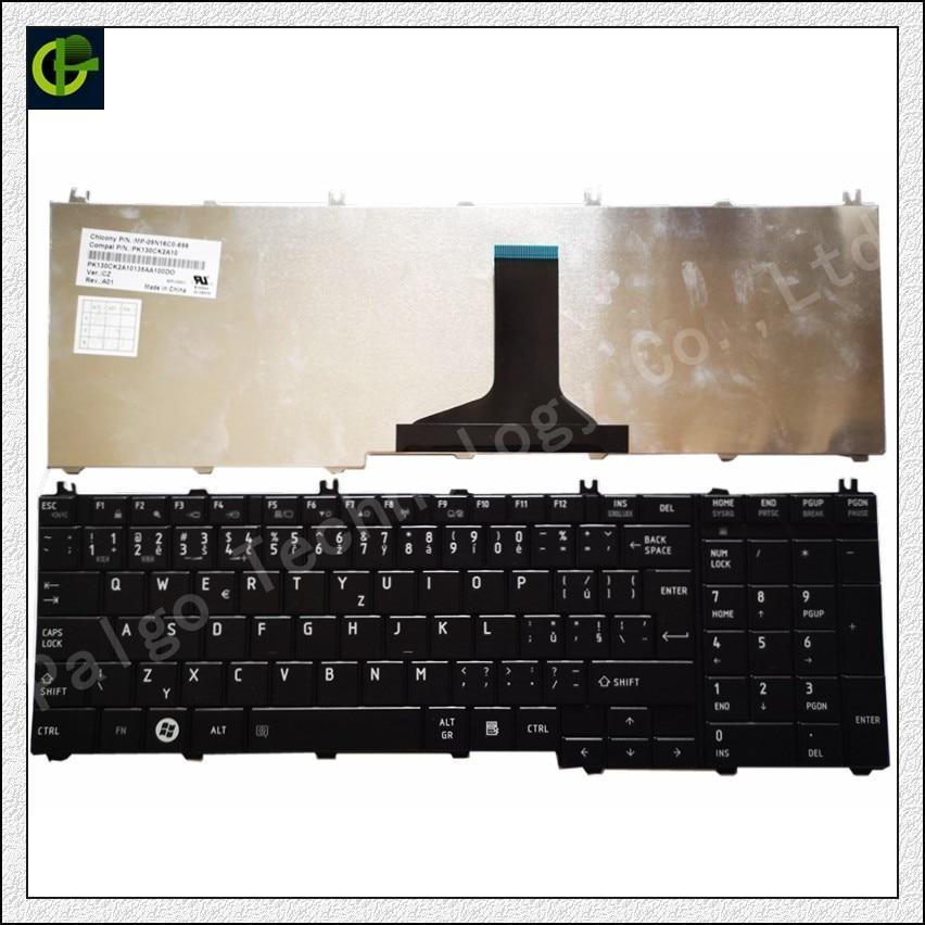 Tchèque Clavier pour toshiba Satellite L675D L750D L660 C660 T350 B350 C665D L655D L665 L665D CZ fit Slovaquie SK ordinateur portable clavier
