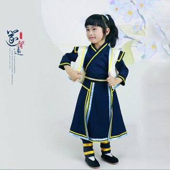 Long Yin Qu Di Sheng Little Swordman Costume Little Boy Photography Costume Traditional Hanfu kerlon rong sheng meiling xinfei of beauty rongshida little swan haier refrigerator thermal head sensor