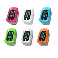 Oximeter Fingertip Pulse Rate Thermometer Spo2 And PR Heart Monitor Digital Display Finger Pulsometro